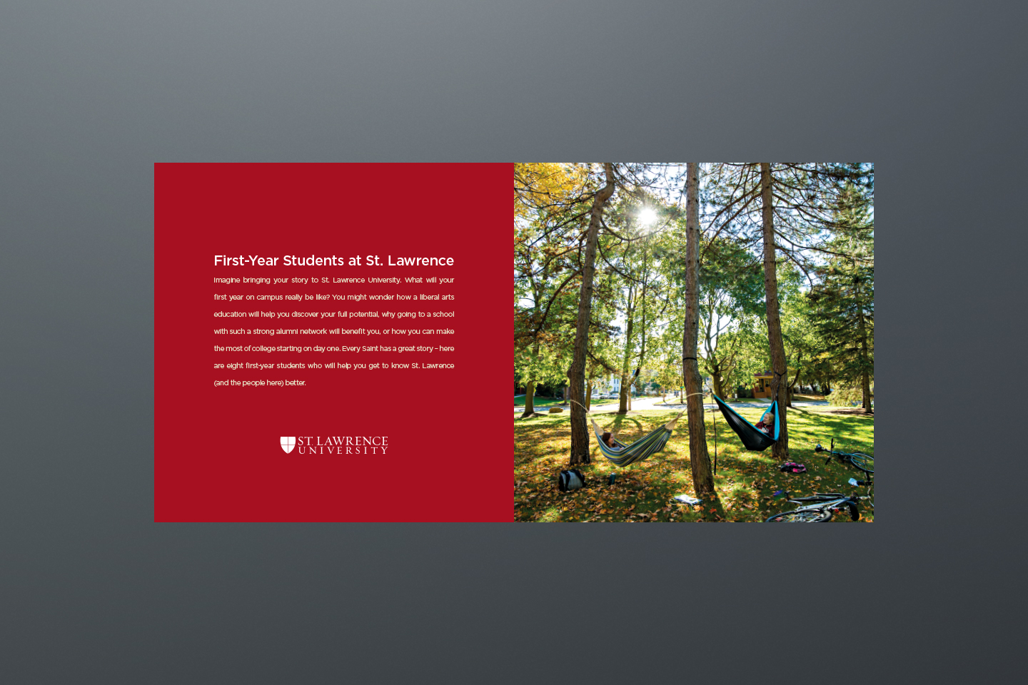 St. Lawrence University Travel Brochure